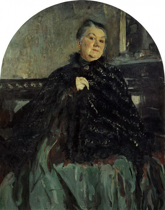 Portrait of GN Fedotova. 1905. Valentin Serov