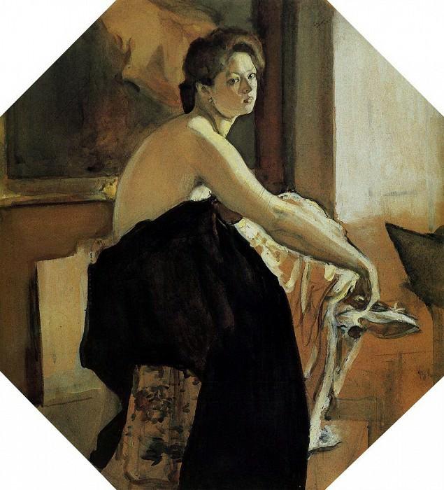 Model. 1905. Valentin Serov