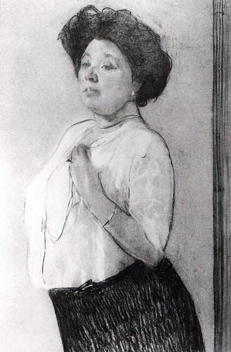 Portrait of NP Lamanova. 1911. Valentin Serov