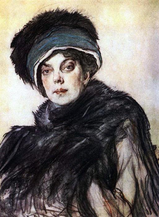 Portrait of Prince. Olga Orlova. 1911. Valentin Serov
