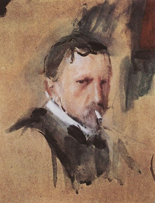 Self-portrait. 1901. Valentin Serov