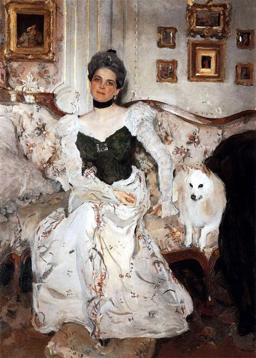 Portrait of Princess Zinaida Yusupova. 1,902. Valentin Serov