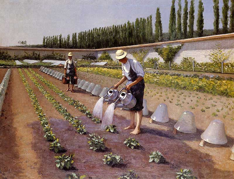 The Gardeners - 1875 - 1877. Gustave Caillebotte