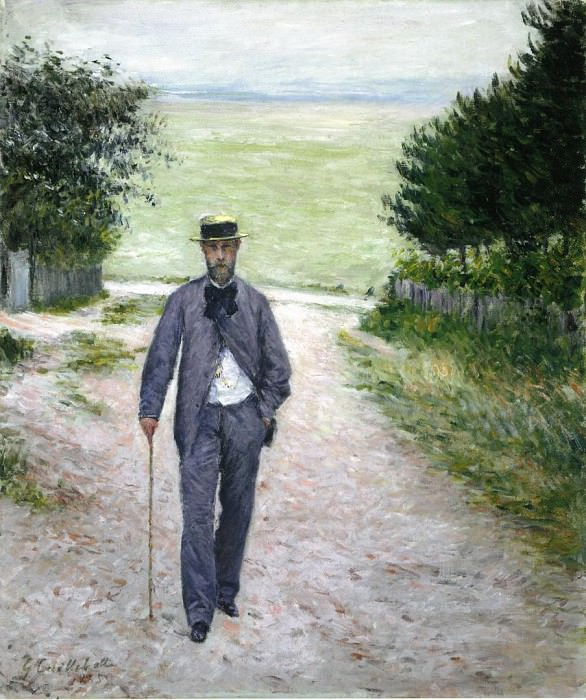 by the Sea - 1888 - 1894. Gustave Caillebotte