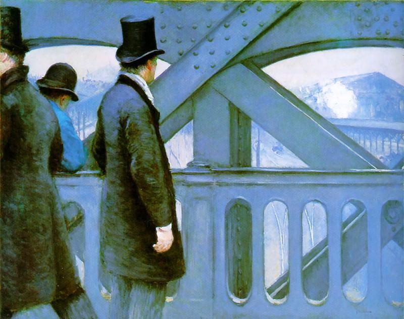Bridge of Europe. Гюстав Кайботт
