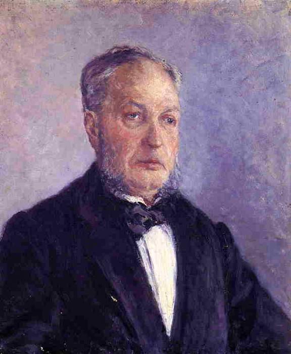 Portrait of Jean Daurelle - 1885. Gustave Caillebotte