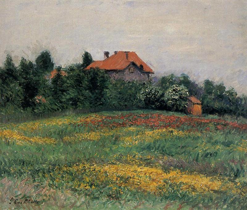 Norman Landscape. Gustave Caillebotte