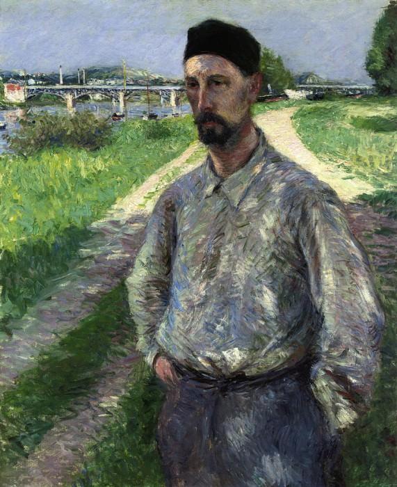 Portrait of Eugene Lamy - 1889. Gustave Caillebotte