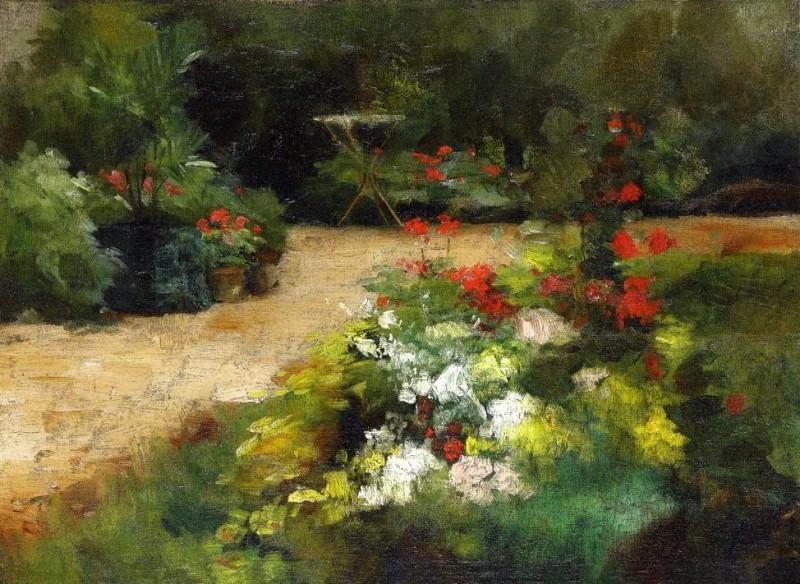 Garden. Гюстав Кайботт