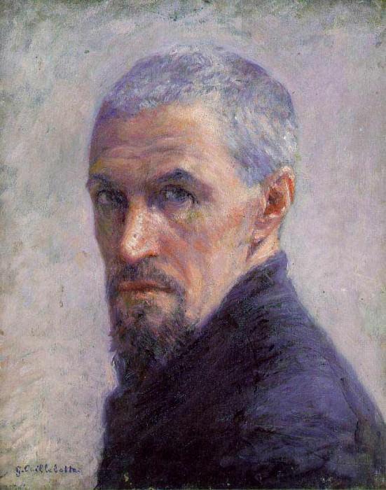 Self Portrait - 1892. Гюстав Кайботт