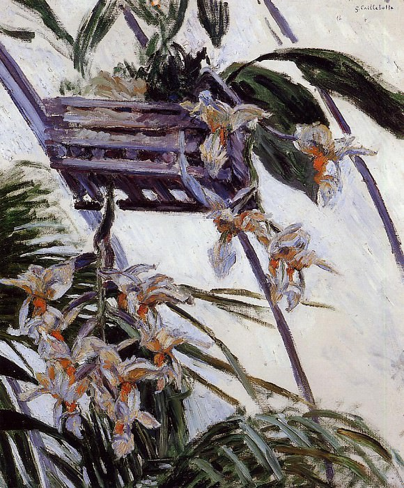 Orchids - 1893. Gustave Caillebotte