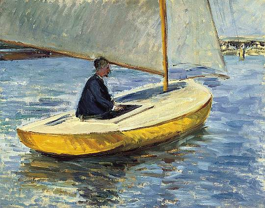 The Yellow Boat - 1891. Gustave Caillebotte