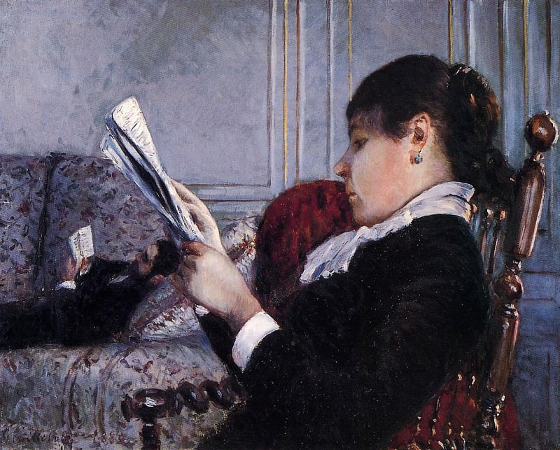Interior - 1880. Gustave Caillebotte