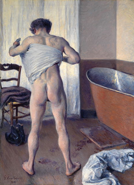 Man at His Bath - 1884. Gustave Caillebotte