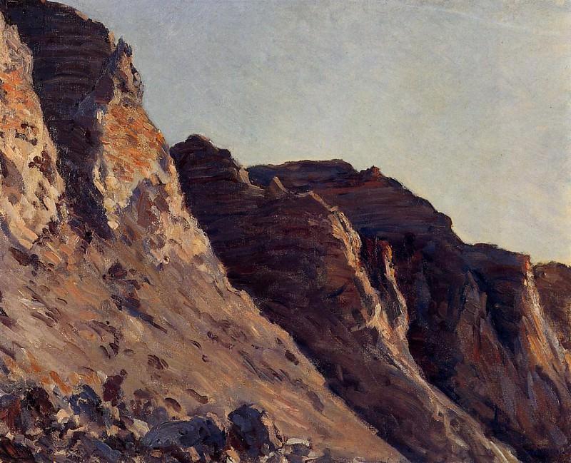 Cliff at Villers-sur-Mer - 1880. Гюстав Кайботт