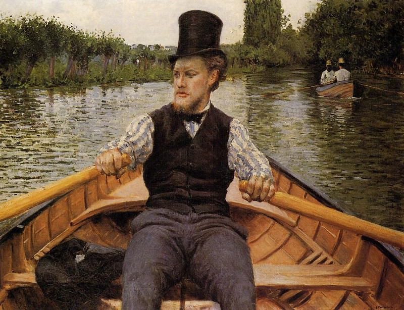 Boating Party - 1877. Gustave Caillebotte