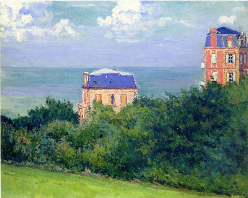 Villas at Villers-sur-Mer - 1880. Gustave Caillebotte