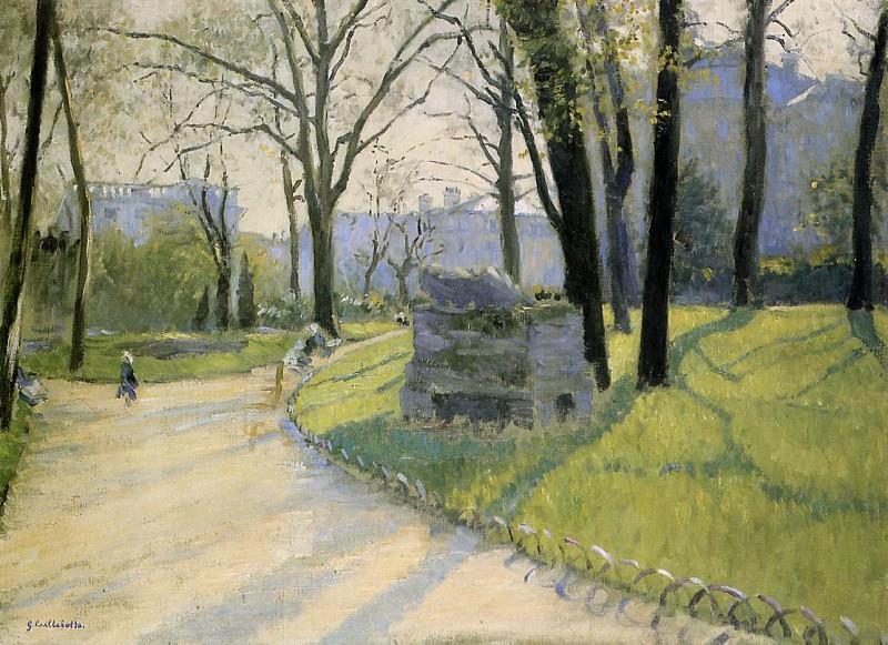 The Parc Monceau - 1878. Гюстав Кайботт