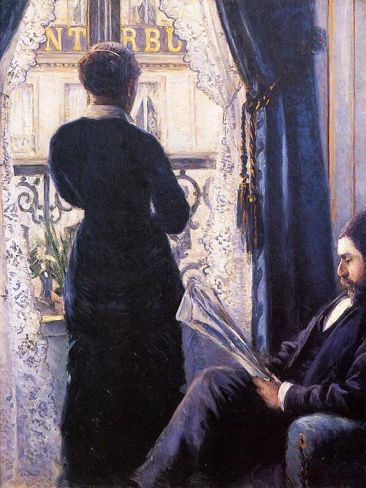 Interior. Gustave Caillebotte
