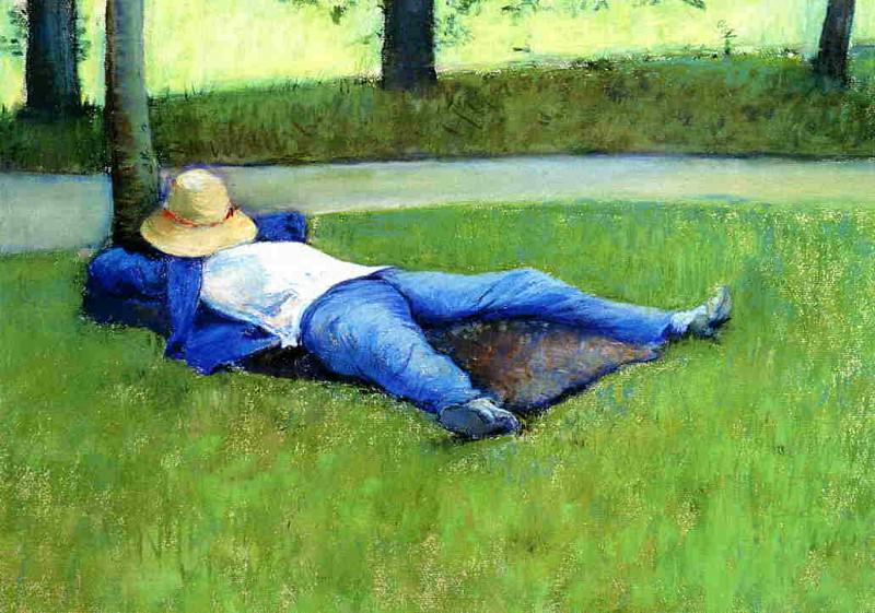 The Nap - 1877. Gustave Caillebotte