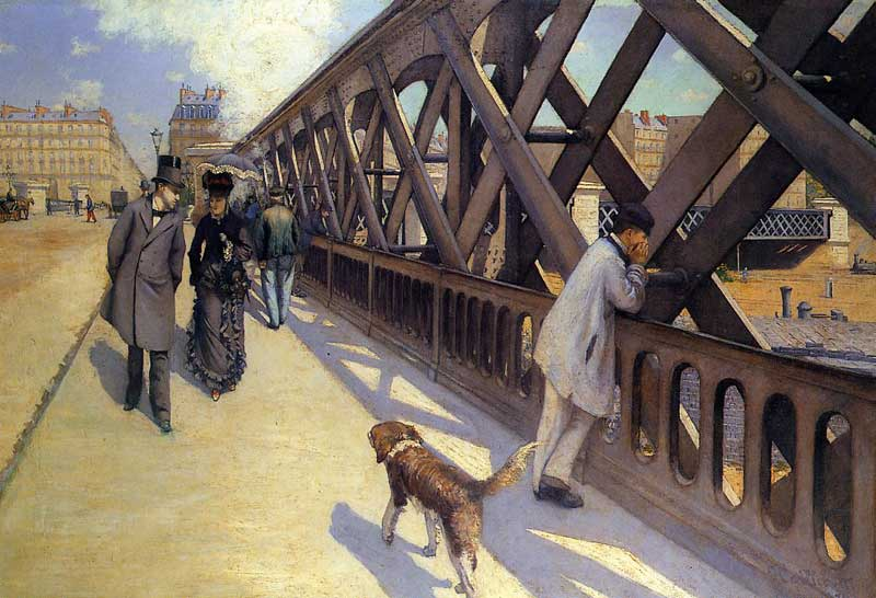 The Pont du Europe - 1876. Gustave Caillebotte