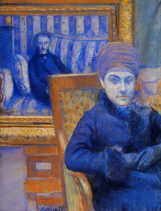 Portrait of Madame X. . . - 1878. Gustave Caillebotte