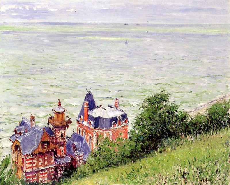 Villas at Trouville - 1884. Gustave Caillebotte