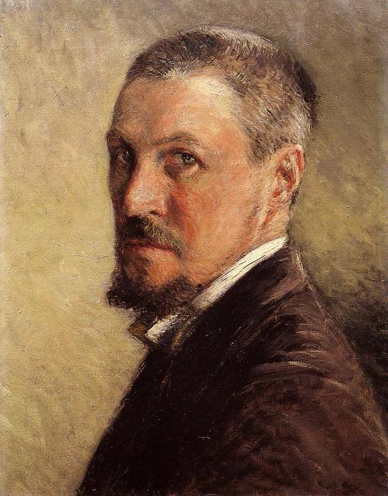 Self Portrait - 1888 - 1889. Gustave Caillebotte