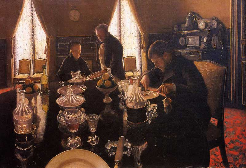 Luncheon - 1876. Gustave Caillebotte