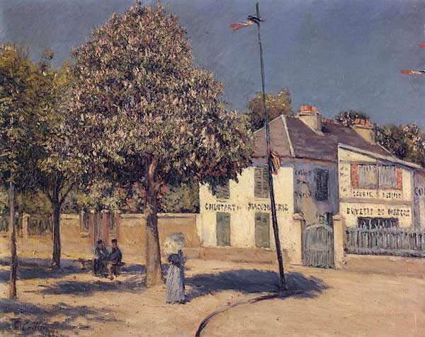 The Promenade at Argenteuil - 1883. Gustave Caillebotte