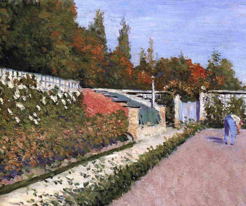 The Gardener - 1877. Гюстав Кайботт