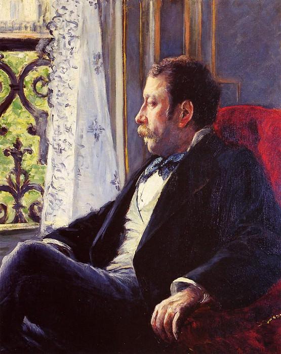 Portrait of a Man - 1880. Gustave Caillebotte