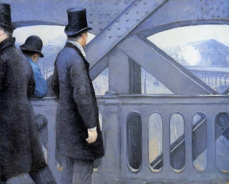 The Pont de Europe - 1876-1877. Gustave Caillebotte