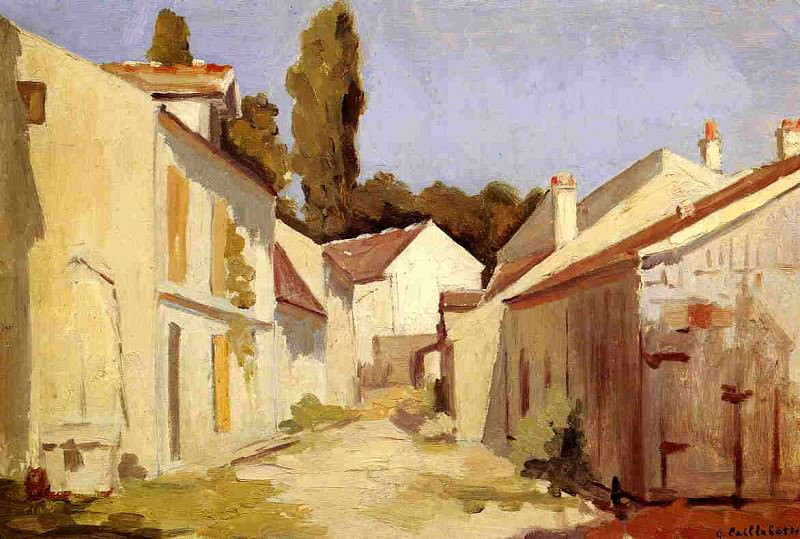 Yerres, Close of the Abbesses. Gustave Caillebotte