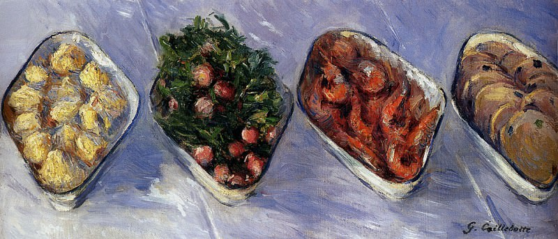 Hors D Oeuvre. Gustave Caillebotte