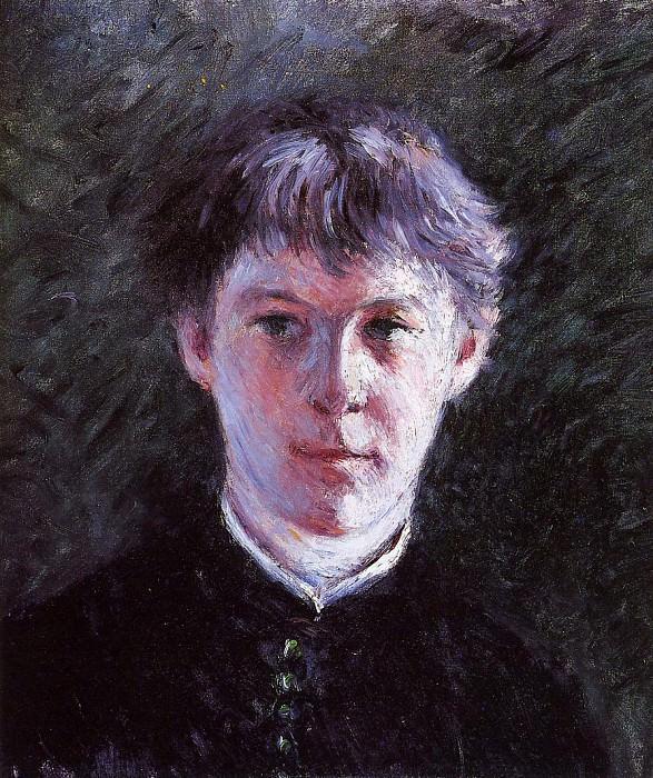 Portrait of a Schoolboy - 1879. Gustave Caillebotte