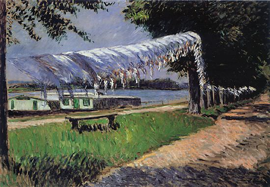 Laundry Drying - 1892. Gustave Caillebotte