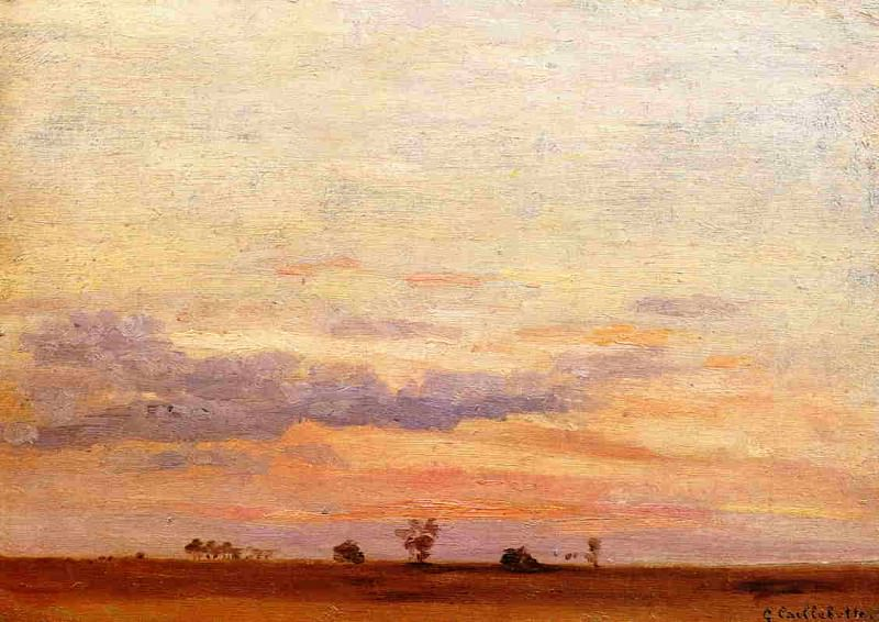 The Briard Plain. Гюстав Кайботт