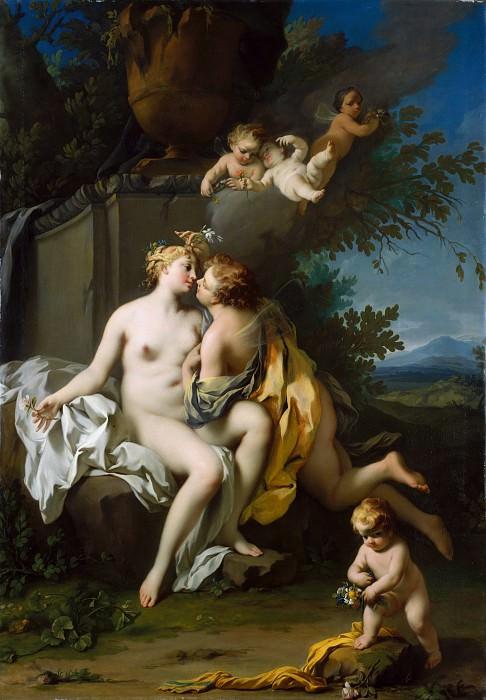 Jacopo Amigoni - Flora and Zephyr. Metropolitan Museum: part 1