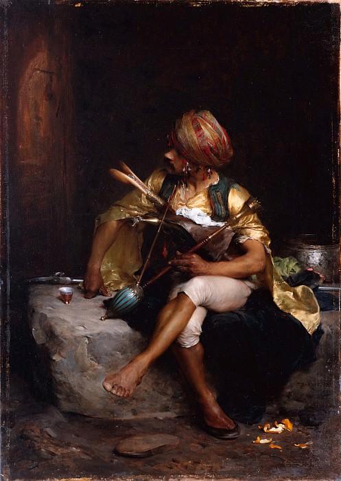 Charles Bargue - A Bashi-Bazouk. Metropolitan Museum: part 1