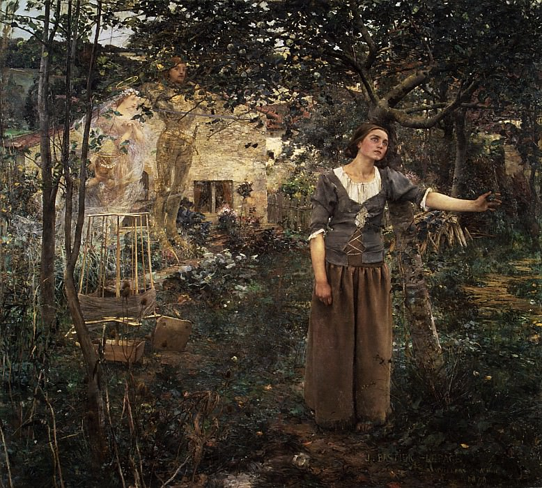 Jules Bastien-Lepage - Joan of Arc. Metropolitan Museum: part 1