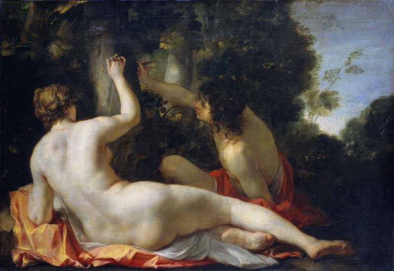 Jacques Blanchard - Angelica and Medoro. Metropolitan Museum: part 1