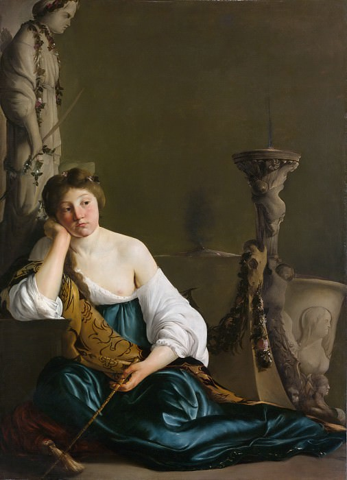Paulus Bor - The Disillusioned Medea (The Enchantress). Metropolitan Museum: part 1