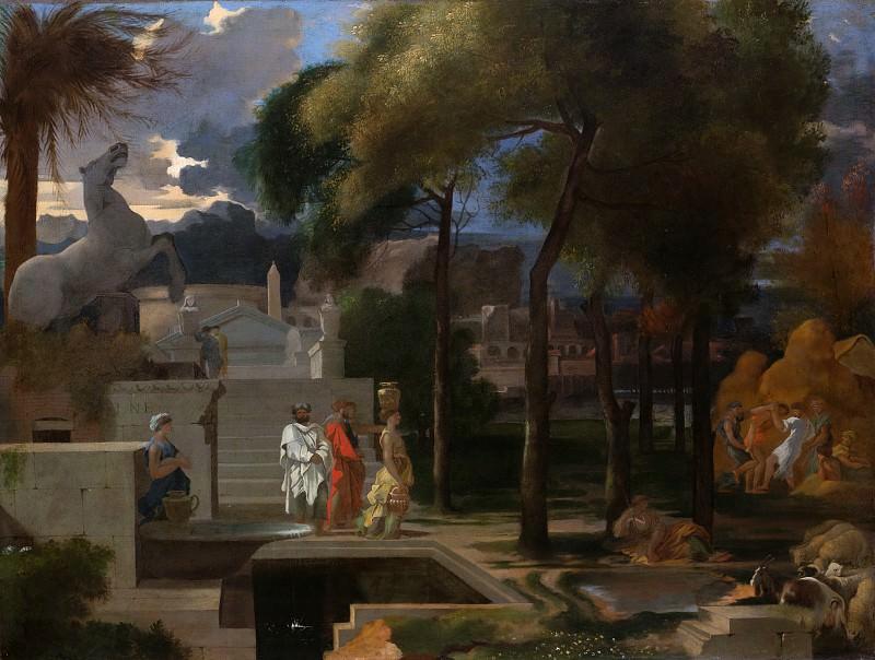 Sébastien Bourdon - A Classical Landscape. Metropolitan Museum: part 1