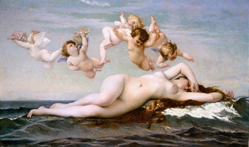 Alexandre Cabanel - The Birth of Venus. Metropolitan Museum: part 1