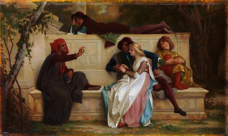 Alexandre Cabanel - Florentine Poet. Metropolitan Museum: part 1