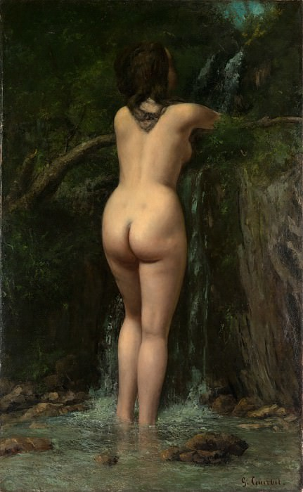 Gustave Courbet - The Source. Metropolitan Museum: part 1