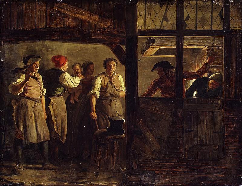 Léonard Defrance - The Forge. Metropolitan Museum: part 1