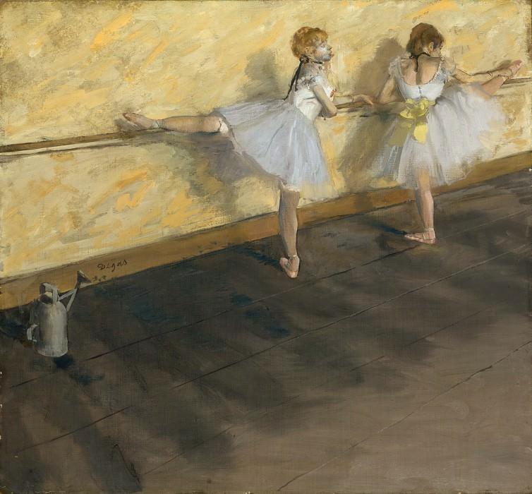 Эдгар Дега - Танцовщицы в Барре. Музей Метрополитен: часть 1