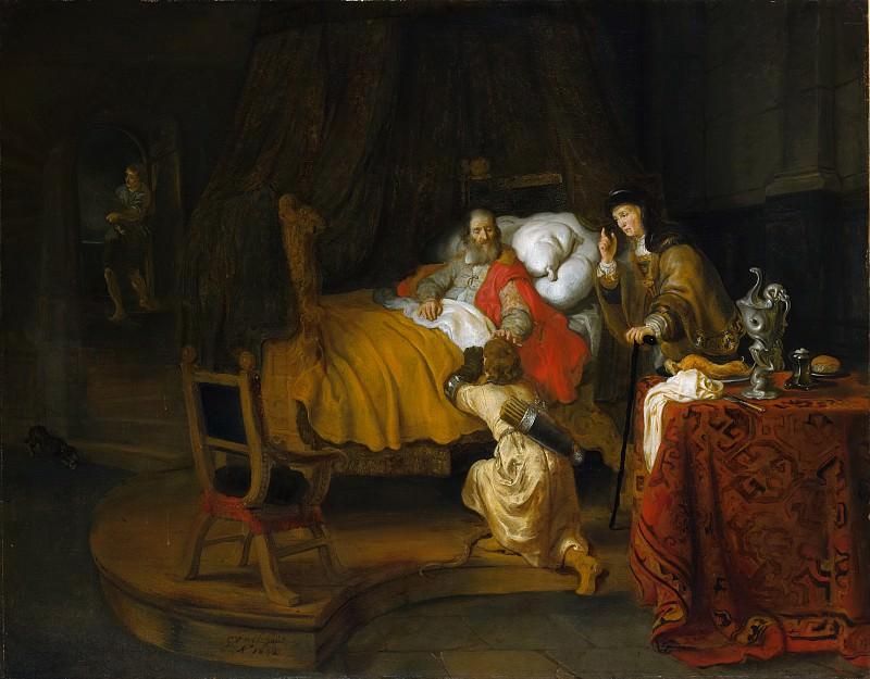 Gerbrand van den Eeckhout - Isaac Blessing Jacob. Metropolitan Museum: part 1